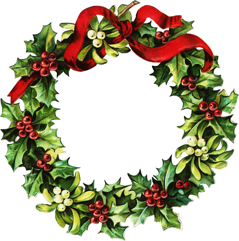 ClipArtPlace_Victorian_Christmas_wreath_Clipart.png
