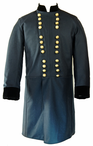General  Frock Coat 3//4 Braids-All size US Civil War Confederate Major-Colonel
