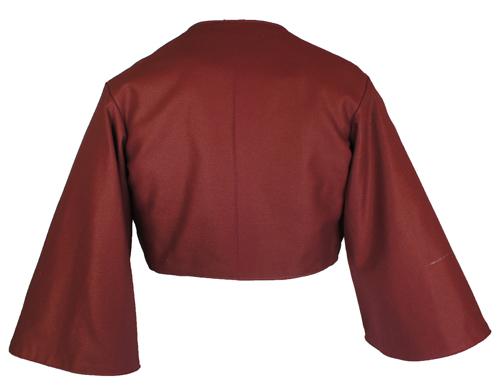 JacketPagodaSleeveMaroonBack_SM