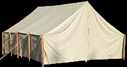 Tent - Wall: Officer or Command